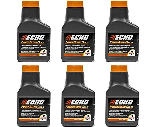 Echo 6450001G Power Blend Gold 1 Gallon Oil Mix (50:1) 6 Pack
