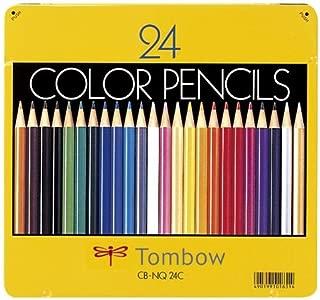 (まとめ買い) トンボ鉛筆 色鉛筆 24色NQ CB-NQ24C 【×3】