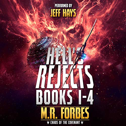Hell's Rejects, Books 1-4 audiobook cover art