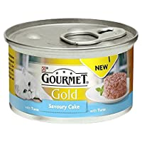 Gourmet Gold Savoury Cake Adult Cat with Tuna 85g 85g Gourmet Quantity: 1
