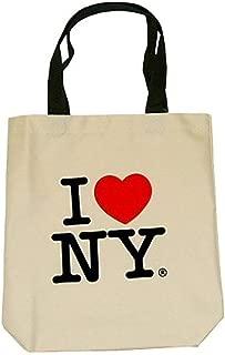 City-Souvenirs I Love New York Tote Bags, Souvenirs, Cream