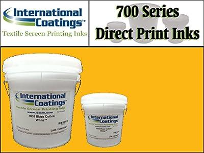 International Coatings Ink - 700 Series Direct Print Plastisol Ink for Screen Printing - Golden Yellow