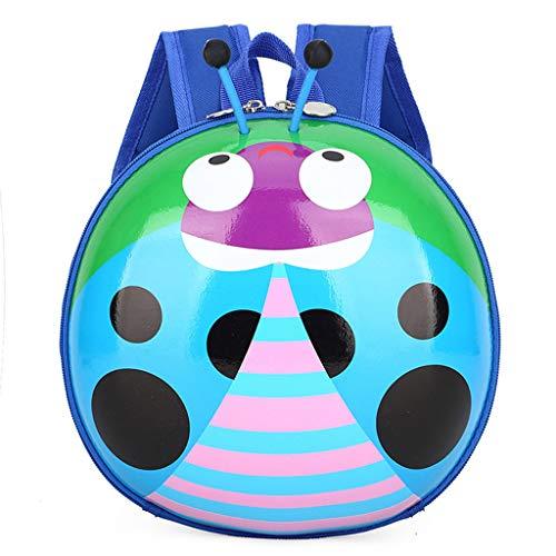 Mochila para niños y niñas, diseño de dibujos animados, mochila de viaje con, Blue (Azul) - guangruiorrtysjb3TT904044-BL