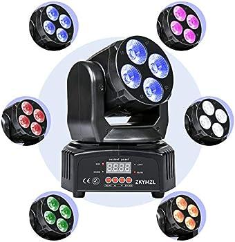 Zkymzl 50W RGBWA/UV LED Rotating Stage Light