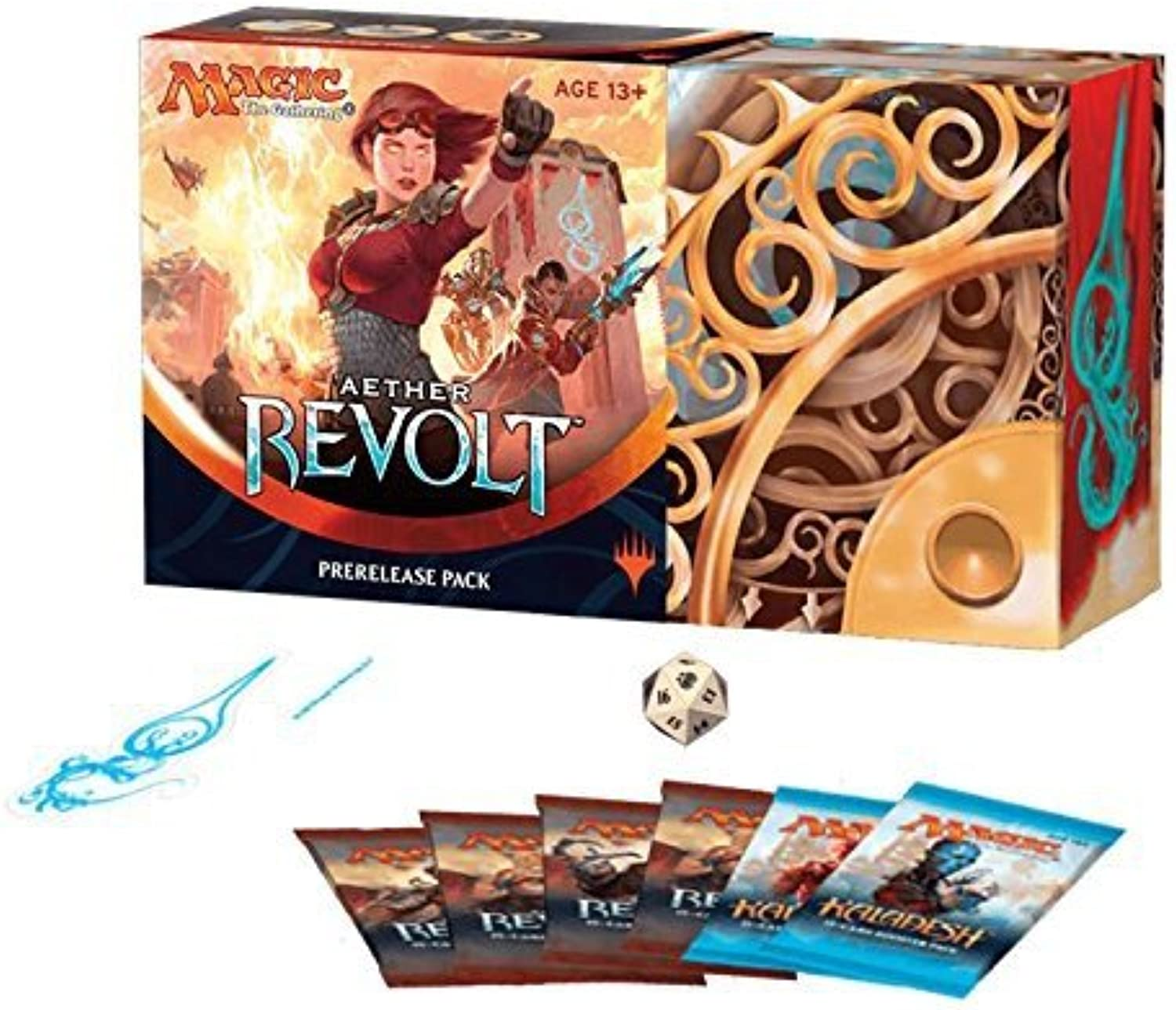Magic  The Gathering  Aether Revolt Prerelease Pack  UK Version