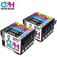 OFFICE HELPER Reemplazo de Cartucho de Tinta Compatible para Epson 29XL for Epson Expression Home XP-235 XP-245 XP-247 XP-330 XP-332 XP-335 XP-342 XP-345 XP-430 XP-432 XP-435 (10 Paquete)