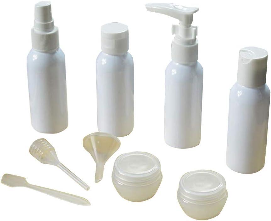 hbz11hl Travel Bottle Set 9Pcs Japan's largest assortment Spray Cosmetic Makeup Funn trend rank