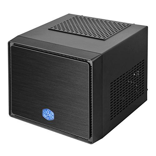 Cooler Master Elite 110 Black Armor Edition PC-Gehäuse 'Mini-ITX, USB 3.0, Seitliches Lochgitter' RC-110A-KKN1