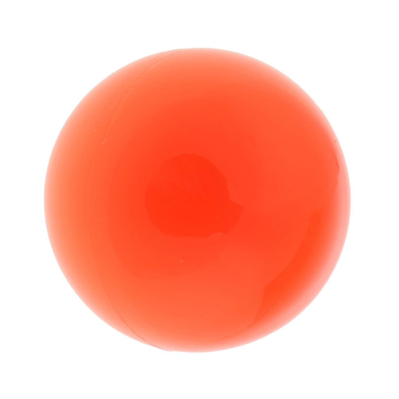 コンプライアンス公爵夫人オーガニックFenteer ラクロスマッサージボール マッサージボール マッサージ 手のひら 足 腕 首 背中 足首 ジム ホーム 便利 オレンジ