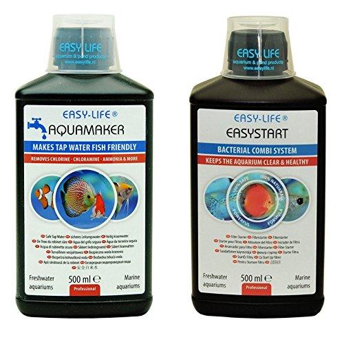 Easy Life Sparpack Filtermedium 500 ml Aquamaker 500 ml Optimales Aquariumwasser