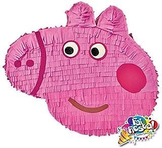 Pignatta a tema Peppa pig (pentolaccia, piñata) per feste di compleanno a tema. Un divertente gioco per far gioire i bambi...