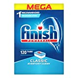 Finish Powerball Classic 120 Dishwasher Tablets Mega