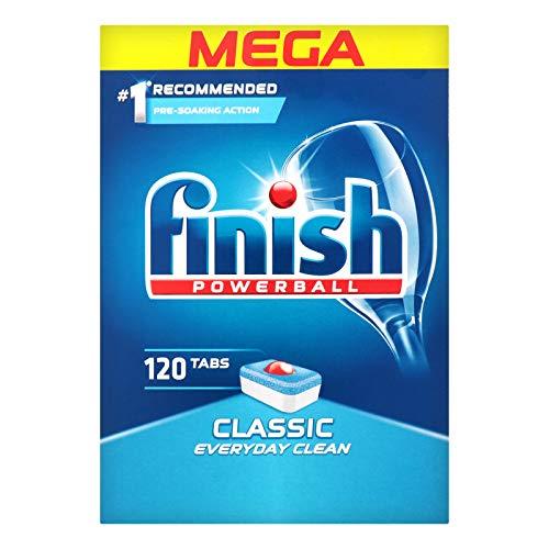 Finish Powerball Classic 120 Dishwasher Tablets Mega