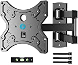 """Full Motion TV Wall Mount Bracket Swivel Heavy Duty Articulating Arms Tilt for 13-42"""" LED LCD Flat Curved TV Screen Monitor TVs, VESA Up to 200x200mm, Weight Capacity Up to 77lbs"""