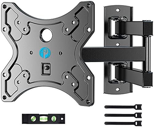 """Full Motion TV Wall Mount Bracket Swivel Heavy Duty Articulating Arms Tilt for 1342"""" LED LCD Flat Curved TV Screen Monitor TVs VESA Up to 200x200mm Weight Capacity Up to 77lbs"""