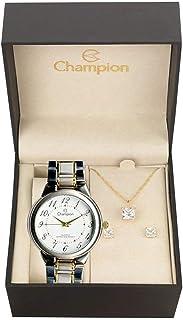 55f22b26c9f Relógio Champion Ch22368d + Conjunto de Brincos e Colar