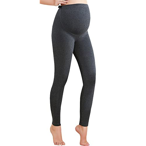 60cb7cbd8be Foucome Women s Over Bump Super Soft Support Maternity Leggings Cropped  Pants