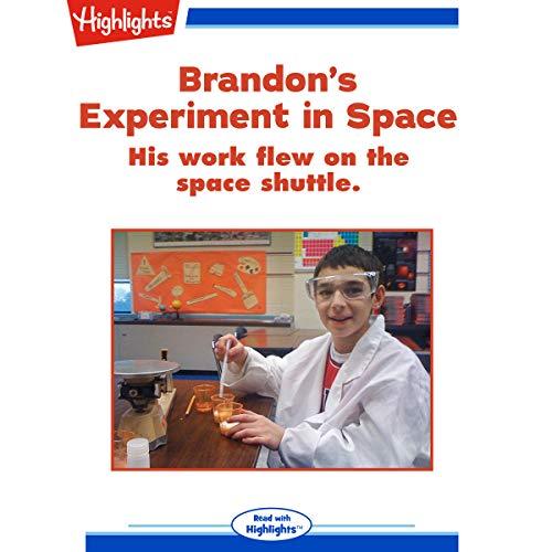 Brandon's Experiment in Space copertina