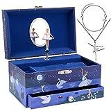 Jewelkeeper - Caja Musical Bailarina y Juego de Joyas de niñitas - 3...