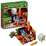 LEGO Minecraft - Le portail du Nether - 21143 - Jeu de Construction