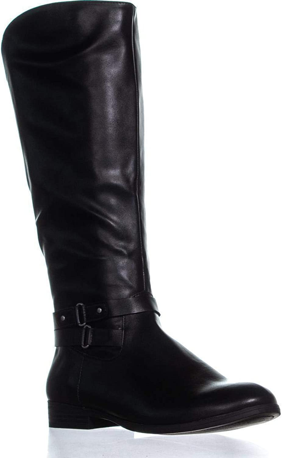 Style & Co. SC35 Kindell Knee High Boots, Black