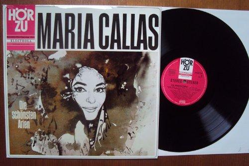 Die schönsten Arien. Keusche Göttin, Wahnsinns Arie, Frag ich mein beklommnes Herz, Ja, die Liebe hat bunte Flügel, Draußen am Wall von Sevilla, Du, im irdischen Wahn einst befangen. Maria Callas, Serafin, Galliero, Pretre, Rescigno Stereo