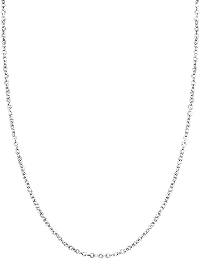 14k White Gold Replacement Chain