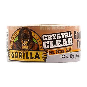 gorilla tape clear waterproof