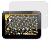 atFoliX Película Protectora Compatible con Lenovo IdeaPad Tablet K1 Lámina Protectora de Pantalla, antirreflejos y amortiguadores FX Protector Película (2X)