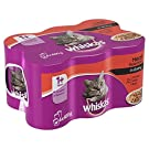 whiskas Cat Tins Meat in Gravy 6 x 400g