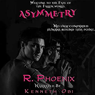 Asymmetry: A Fate of the Fallen Standalone audiobook cover art