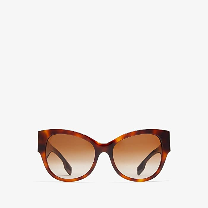 Burberry  0BE4294 (Light Havana/Brown Gradient) Fashion Sunglasses
