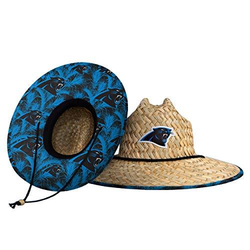 Carolina Panthers NFL Floral Straw Hat
