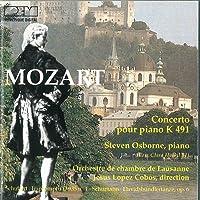 Concerto per piano n.24 K 491 in do (1786) Improvviso D 935 (1828) n.1 op 142 in fa Davidsbundlertanze op 6 (1837)