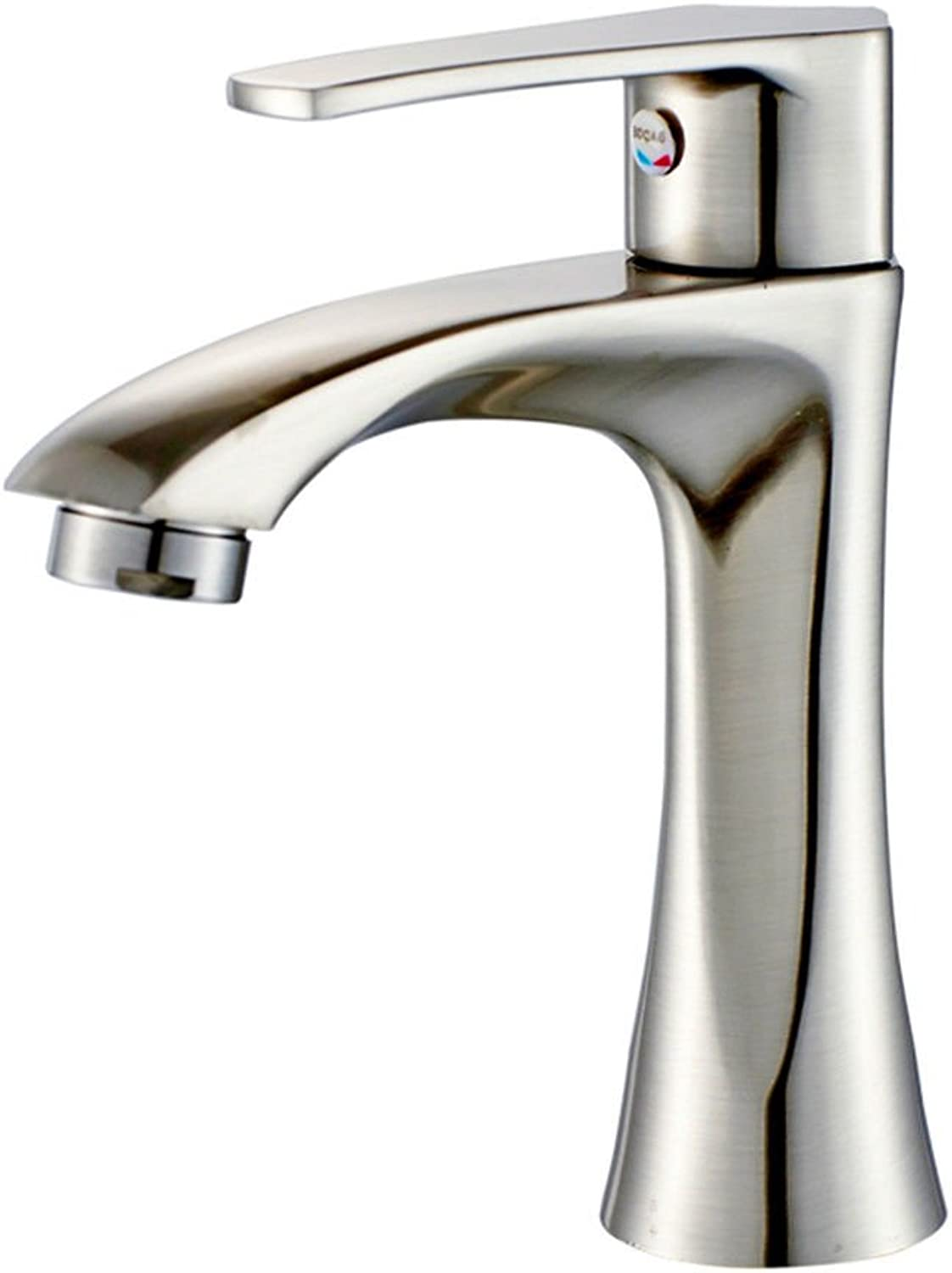 Lalaky Taps Faucet Kitchen Mixer Sink Waterfall Bathroom Mixer Basin Mixer Tap for Kitchen Bathroom and Washroom Single Cold Single Hole