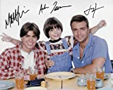 Brotherly Love cast of 3 (Joey Lawrence, Andrew Lawrence, Matthew Lawrence) Original Autographed 8X10 photo