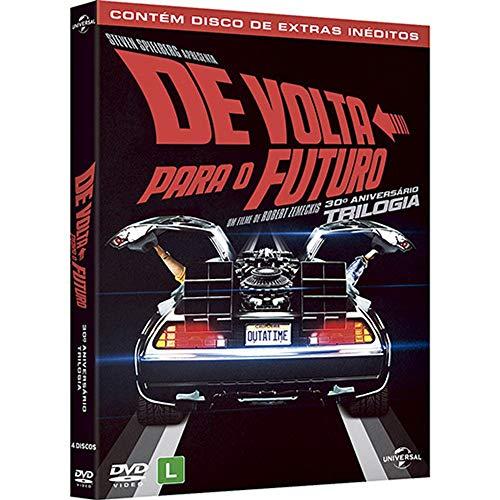 Trilogia De Volta Para O Futuro - 30º Aniversário