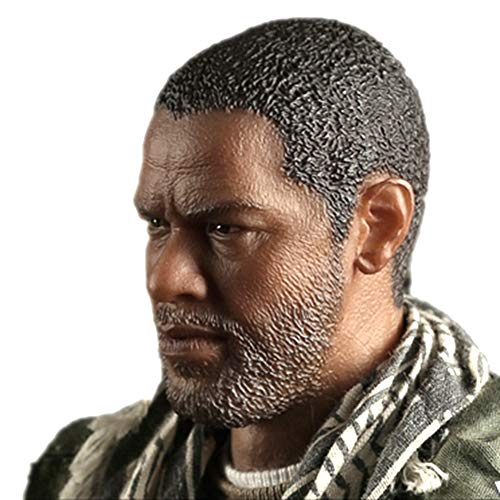 "HiPlay 1/6 Scale Male Figure Head Sculpt Series, Handsome Men Tough Guy , Doll Head for 12"" Action Figure (HP-A12)"
