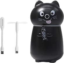 Umidificatore di aromi piccolo umidificatore con luce notturna a LED per gatto a ultrasuoni auto Nangjiang ufficio per camera da letto diffusore di oli essenziali con luce USB