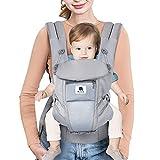 最新 改良 抱っこひも おんぶ紐 多機能抱っこ紐 対面抱き 前向き抱っこ おんぶ 4WAY ベビーキャリア 新生児から3歳まで 調節可