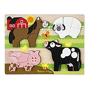 Melissa & Dough Animals Wodden Chunky Puzzle