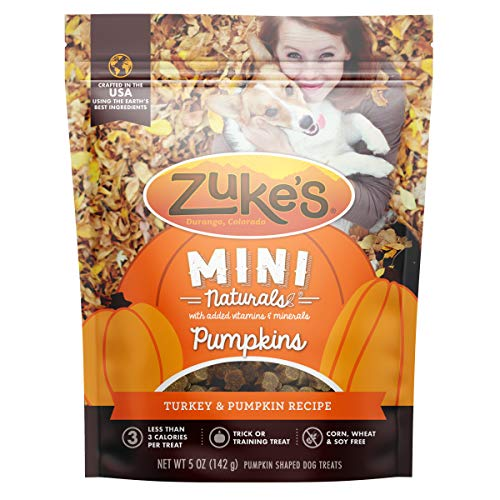 Zukes Mini Naturals Turkey & Pumpkin Recipe - 5 oz Bag