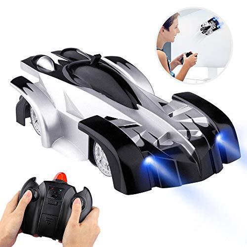 Baztoy Coche Teledirigido, Coche de Control Remoto para Coche de Acrobacias en la Pared Modos duales Rotación de 360 ° RC Cars Vehículos Juguetes Juegos para niños Regalos Divertidos Gadgets geniales