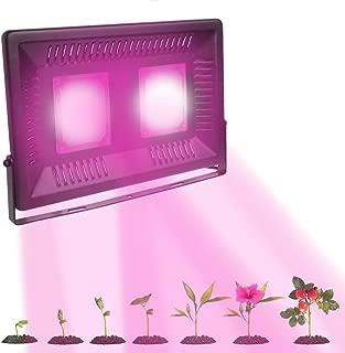 100W Planta Lámpara LED Grow Crecimiento Planta Lámpara De Espectro Total Led Serie con IR Luz Ultravioleta para Interior De Invernadero Growbox Veg Germinación Florecerán/Flujo Luminoso: 8000LM