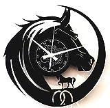 Instant Karma Clocks - Reloj de Vinilo de Pared para Viajes,...