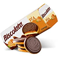 4-Pack Biscolata Pia Cookies with Fruit Filling