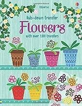 Flowers (Rub-down Transfer Books)