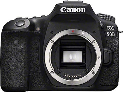 Canon EOS 90D Spiegelreflexkamera Gehäuse Body (32,5 Megapixel, 7,7 cm (3 Zoll), Bluetooth, Vari-Angle Touch Display, APS-C Sensor, 4k, Full-HD, DIGIC 8, WLAN), schwarz