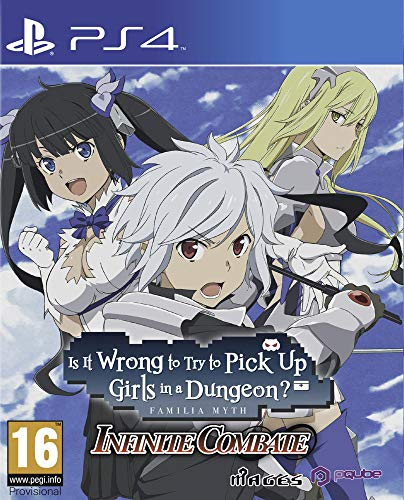 Is it wrong to try to pick up girls in a dungeon ? Infinite Combate PS4