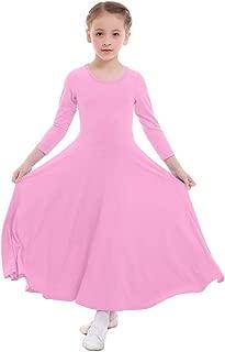 Freebily Vestito da Sposa Bambina Schiena Scoperta Abito Principessa Smanicato Pizzo Fiore Ragazza Abito Battesimo Bimba Chiesa Carnevale